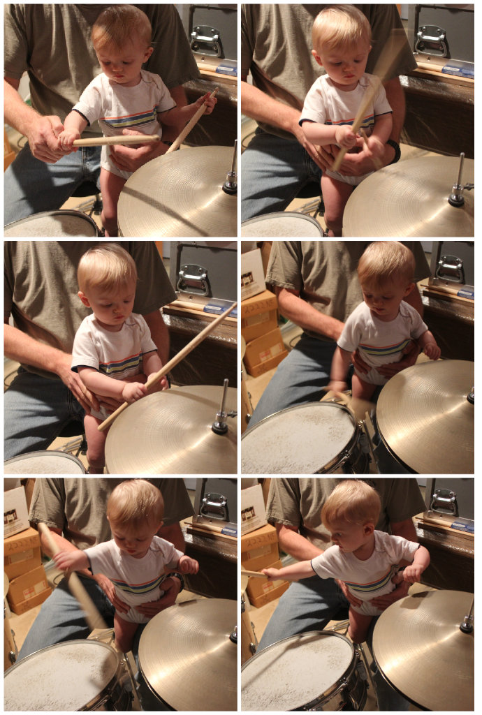 Drums collage